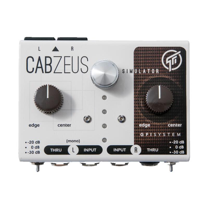GFI System Cabzeus Stereo Speaker Simulator & DI Box Pedal