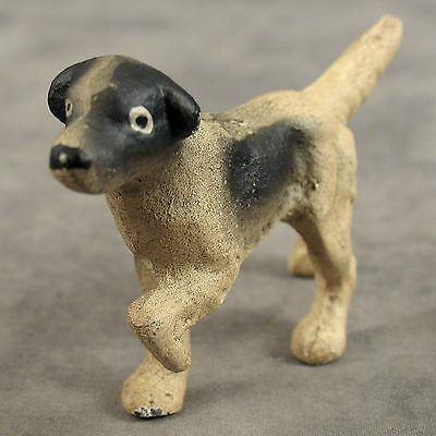 ENGLISH SETTER POINTER DOG Cast Iron MINIATURE STATUE PAPERWEIGHT