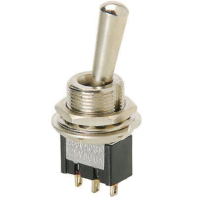 Spdt Mini Toggle Switch With Tapered Knob