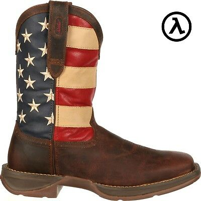 Rebel By Durango Patriotic Pull On Western Boots Db5554   All Sizes   New
