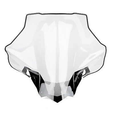 Powermadd 13540 Cobra Windshield Tall 19in Clear w/ Black Fade Ski-Doo 2013-2019
