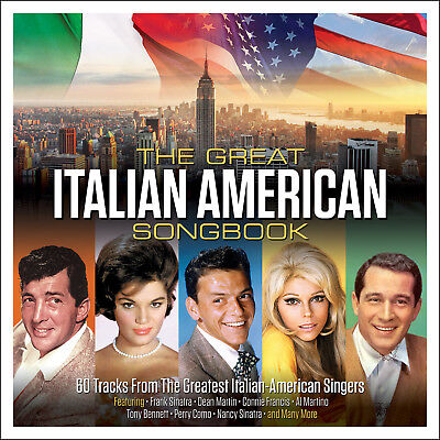 The Great Italian American Songbook VARIOUS ARTISTS Best Of 40 Songs NEW 3
