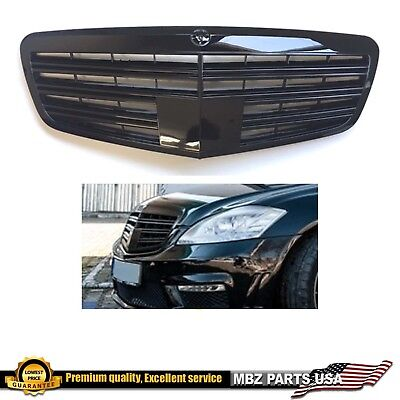 S65 S63 S Class Gloss all black grille S550 S350 S600 2010 2011 2012 2013 W221