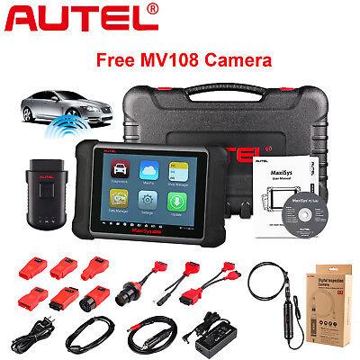 Autel MaxiSys MS906BT Auto Diagnostic Tool Code Reader Scanner ECU Coding MV108