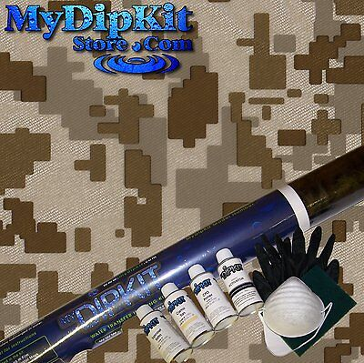 BEST Hydrographics Dip Kit Activator DIGITAL CAMO Hydro dipping activator