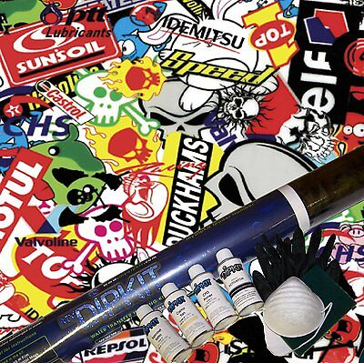 Hydrographics Dip Kit Activator Water Transfer Sticker Bomb Hydro Dipping Ll-535
