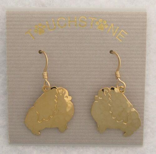 Pomeranian Jewelry Wire Silhoutte  Earrings