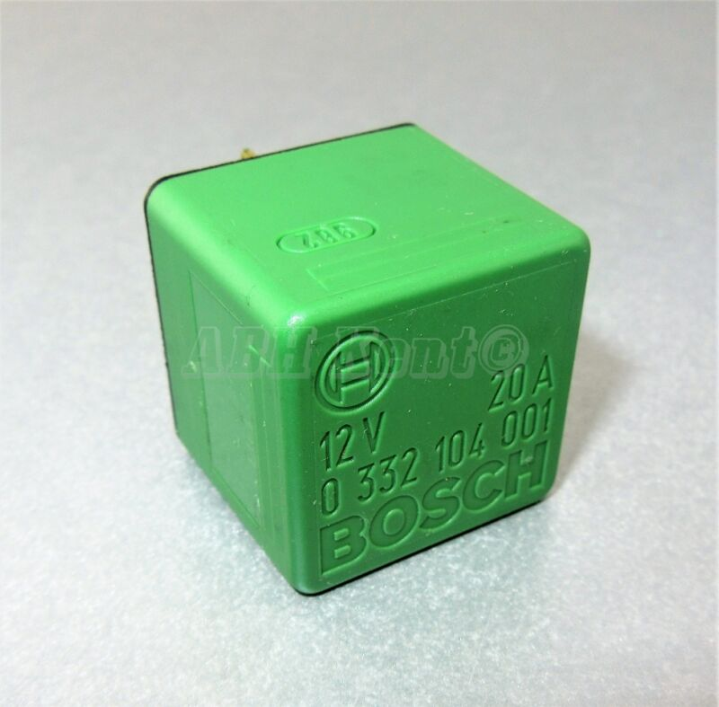 28-Toyota Multi-Use 4-Pin Green Relay 90084-98011 Bosch 0332104001 ISO B4-S