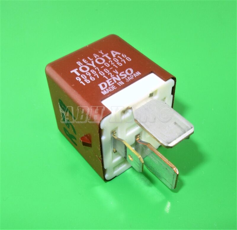 59-Toyota & Lexus 4-Pin Brown Multi-Use Relay 90987-02016 Denso 156700-1570 12V