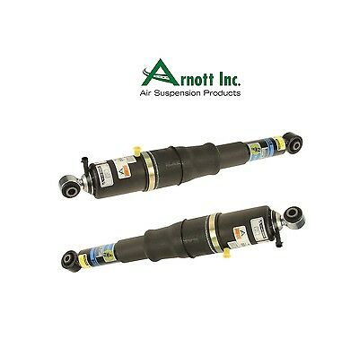 For Cadillac Escalade Chevy GMC Set of 2 Rear Shock Absorbers Arnott AS-2700