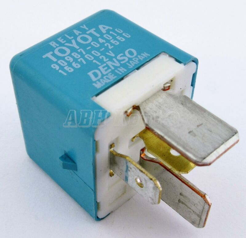 202-Toyota Lexus 5-Pin Multi-Use Blue Relay 90987-04010 Denso 156700-2550 Japan