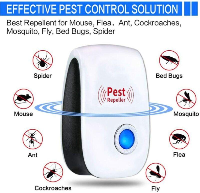 10pcs Ultrasonic Pest Reject Home Control Electronic Repellent Mice Rat Repeller