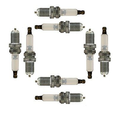 For Set of 8 Spark Plugs NGK OEM PFR6WT/6740 for Audi A6 A8 Quattro S6 S8 Q7