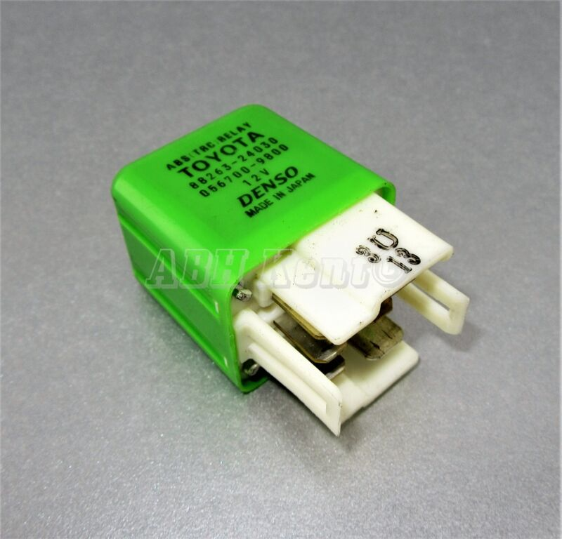 123-Toyota Lexus 6-Pin ABS (TRC) Green Relay 88263-24030 Denso 056700-9800 Japan