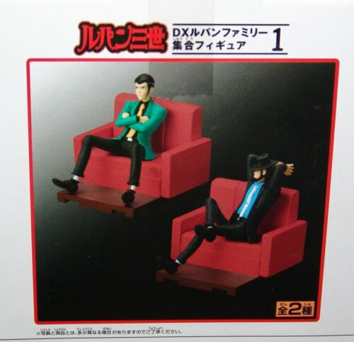 NEW Banpresto Lupin the Third DX FAMILY COLLECTIVE FIGURE SERIES #1 COMPLETE 2pc