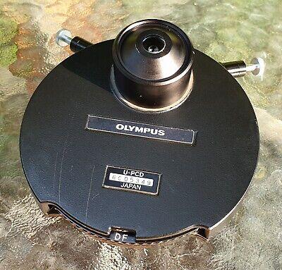Olympus U-pcd Condenser 1.25 Phase And Darkfield Condenser Microscopes.