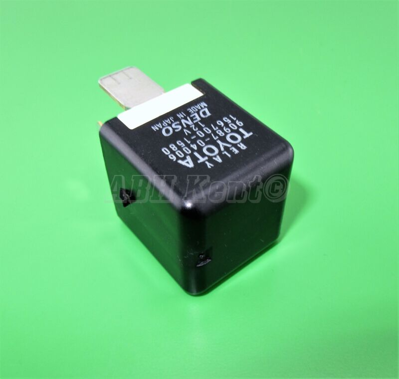 97-Toyota Lexus Multi-Use 5-Pin Black Relay 90987-04006 Denso 156700-1580 Japan