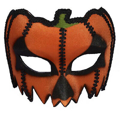 Pumpkin Eyeglass Unisex Adult Masquerade Costume Halloween Mask