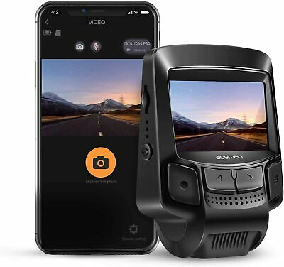 APEMAN C580 WiFi Dash Cam 1080P Sony Sensor Dash Camera Recorder