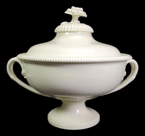ANTIQUE 18TH CENTURY MUSEUM WORTHY WEDGWOOD CREAMWARE TUREEN AMAZING CONDITION