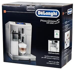 DeLonghi Primadonna S ECAM 28.466.MB 15 bar Kaffeevollautomat, Textdisplay, edel