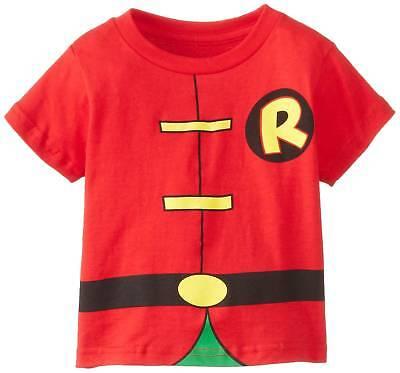 Batman: Robin Costume Caped Toddler T-Shirt - Toddler Batman And Robin Costumes