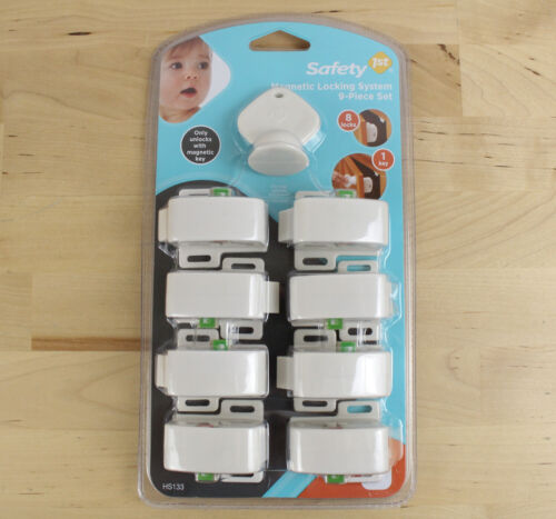 Safety 1st Magnetic Locking System 9-Piece Set New Sealed Baby Proofing Locks
