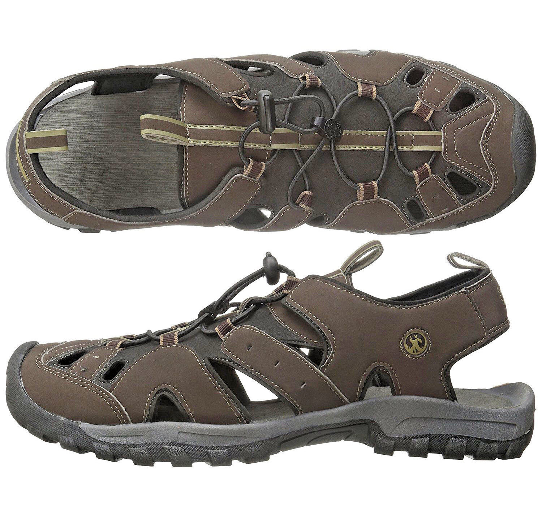 Mens Sandals Northside Burke II Brown Sandals Mens Water Shoes NEW