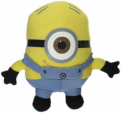 The Movie Minion Stewart 6 inch (Small) Stuffed Plush Doll by Despicable Me