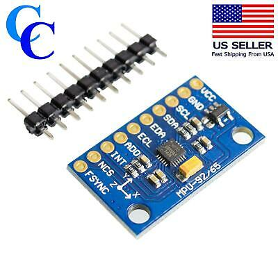 Gy-521 Mpu-6050 3 Axis Gyroscope 3 Axis Accelerometer Module For Arduino