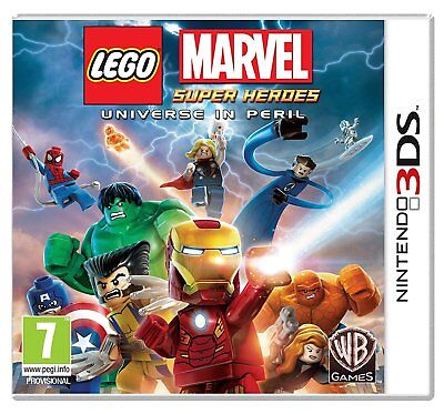Nintendo 3DS Lego Marvel Super Heroes Universe in Peril (BRAND NEW & SEALED)