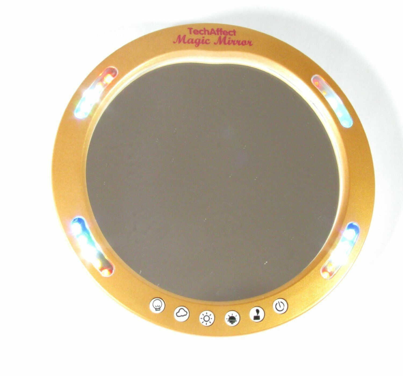 Make Up Mirror With Light Handbag Travel Led Magnifying
