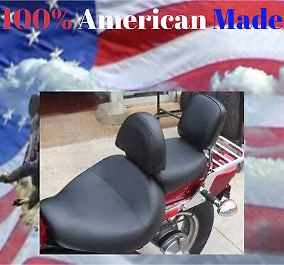 - Honda Shadow Spirit 1100 98-UP Motorcycle Driver Backrest Quick Release