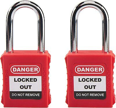 Keyed Different Lockout Safety Padlock-chemical Electric Industrial Automotive