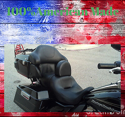 Harley Davidson Drivers Backrest Ultra Classic Quick Release and Adjustable F/B