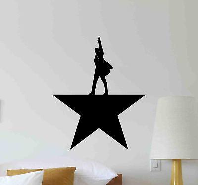Alexander Wall (Alexander Hamilton Wall Decal Star Gift Office Vinyl Sticker Home Poster Art 702 )