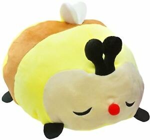 Squishy Mushikko Mochi Puni Bee Stuffed Plush Cute and Soft Japanese Design NWT