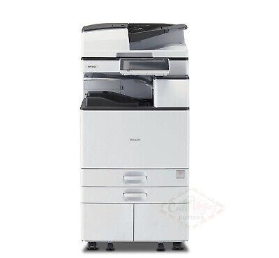 Ricoh Aficio Mp 5055 Tabloid Ledger Mono Laser Mfp Printer Copier Scanner 50 Ppm