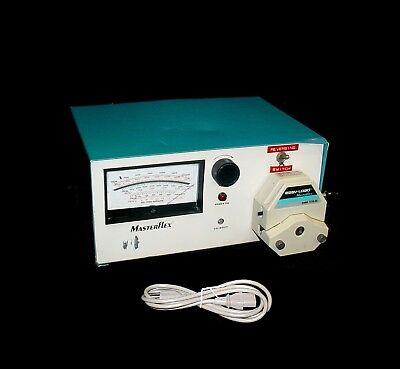 Cole Parmer Masterflex 7562-00 Peristaltic Pump Weasy-load 7518-00 Pump Head