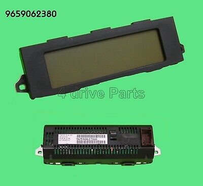 9664644280 Peugeot 308 Citroen C5 Genuine Dash Multifunction Screen Display