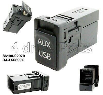 USB SD AUX Adapter  Wechler Interface 5+7 passend für Toyota Corolla 1998-2004