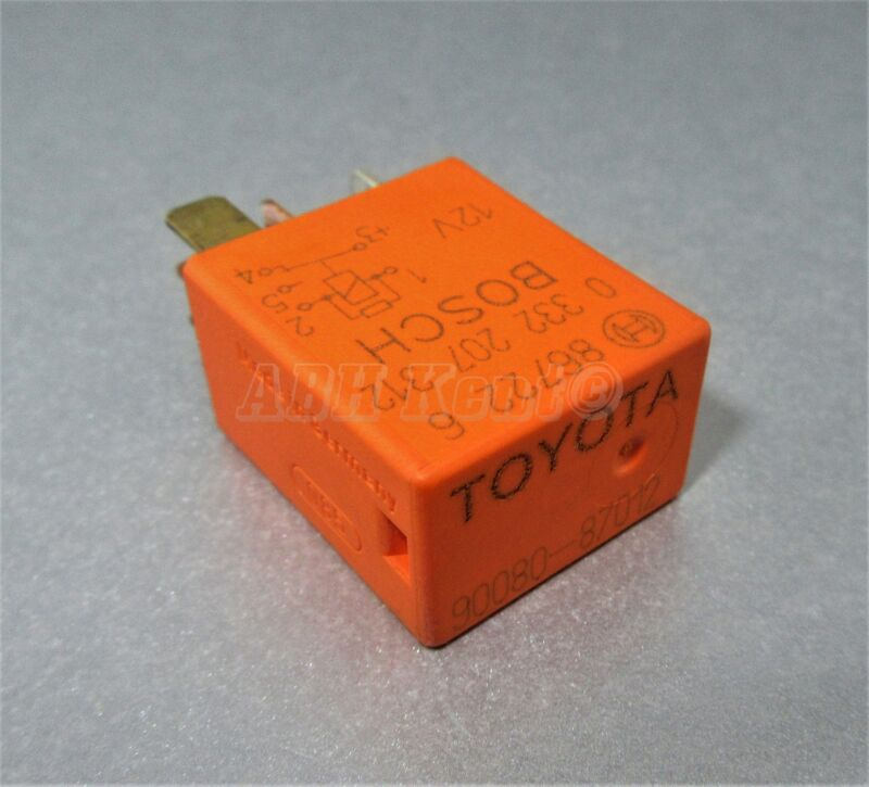 90-Toyota Lexus /95-10 Multi-Use 5-Pin Orange Relay 90080-87012 Bosch 0332207312