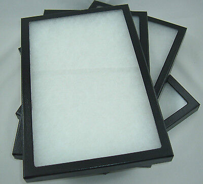 Four Jewelry Display Case Riker Mount Display Box Shadow Collection 8 X 12 X 78