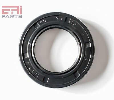 Eai Metric Oil Shaft Seal 45x75x10mm Dust Grease Seal Tc Double Lip W Spring