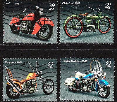 SCOTT 4085-88 USED SET OF 4, AMERICAN MOTORCYCLES