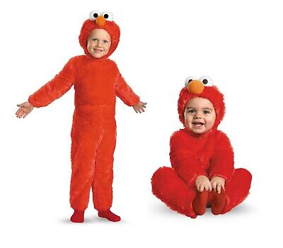 Infant Toddler Elmo Sesame Street (Elmo Infant Costume)