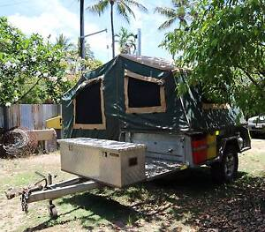Off Road Heavy Duty Camper Trailer Cairns Cairns City Preview