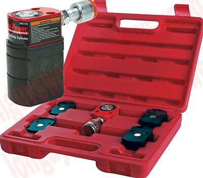 Hydraulic Air Short Flat Ram Auto Body Porto Power Jack Low Profile 5 Ton