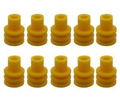 10x Seal Dichtung Tülle für Stecker Steckverbinder VW 357 972 741B 357972741B
