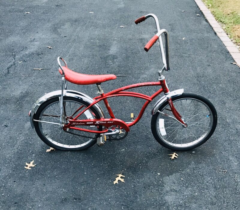 1976 Schwinn Stingray Junior Flamboyant Red J31-6 Muscle Bicycle Surviver Rare